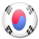 country, south, flag, korea icon