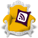 rss, candyellow icon