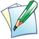 write, edit, writing icon