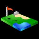 sport, golf icon