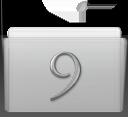 folder,classic,graphite icon
