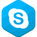 skype, social network icon
