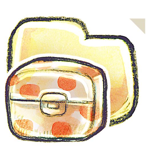 folder, box icon