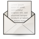 read, mail, letter, envelop, email, mark, message icon
