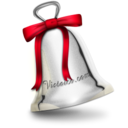 christmas,bell icon