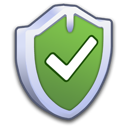 on, yes, security, firewall, check, shield icon