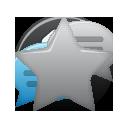 bookmark, favourite, none, star icon