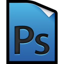 file, adobe, photoshop icon