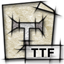 ttf, mime, font, gnome, application icon