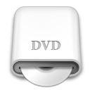 whitedrives,dvd,disc icon
