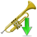 Down, Trumpet icon