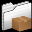 fall, download, folder, descending, decrease, white, down, descend icon
