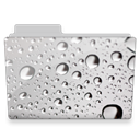 Drops, Folder, Water icon