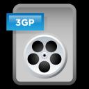 File Video 3GP icon