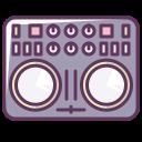 dj, volume, device, music, sound, technology, disco icon