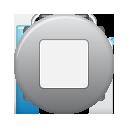 cancel, button, no, grey, stop icon