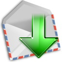 email, mail, get, envelop, message, letter icon