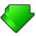 download,alternate,descending icon