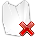 Actions edit delete shred icon
