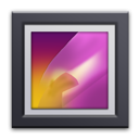 gallery, r, android icon
