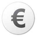 currency, coin, money, cash, euro icon
