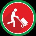 transportation, trolley, transport, fire icon