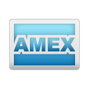 amex, credit, card icon