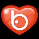 badoo, social, media icon