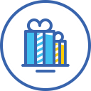 xmas, gift boxes, gifts, christmas, новый год, подарки icon
