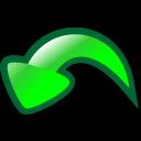 undo, reset, return icon