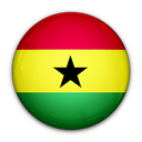 of, flag, ghana icon