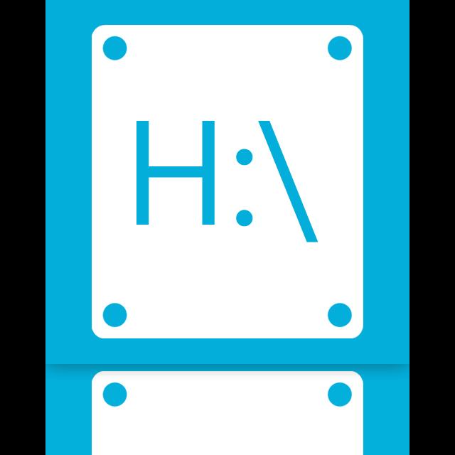 h, mirror icon