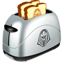 done, toast, food icon