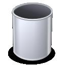 Empty, Trashcan icon