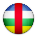 of, african, republic, central, flag icon