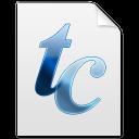 tc, font icon
