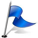 Flag3RightBlue 2 icon