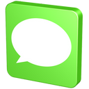 forum, msn, information, comment, verdancy, report, vert, green, talk, message, announcement, bubble, sms, statement, communication, chat, text icon
