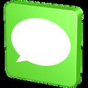 forum, msn, information, comment, verdancy, report, vert, green, talk, message, announcement, bubble, sms, statement, communication, chat, text icon