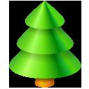 christmas, tree, plant icon