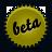 green, splash, beta icon