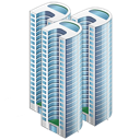 Apartments, Buildings, City, Company, Firm icon