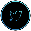 media, share, bird, app, twitter, social, network icon