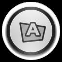folder fonts icon