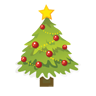 Christmas, , Tree icon