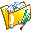 folder,doc icon