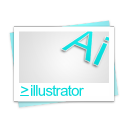 file, paper, illustrator, document icon