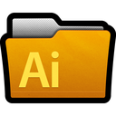 illustrator, directory, adobe, documents, cs5, folder icon