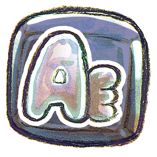 adobe, aftereffect, square icon