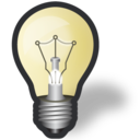 idea, bulb, light icon